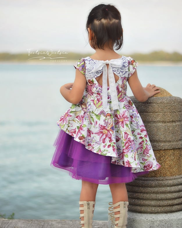 Elouise's Asymmetrical Top and Dress | The Simple Life Pattern Company