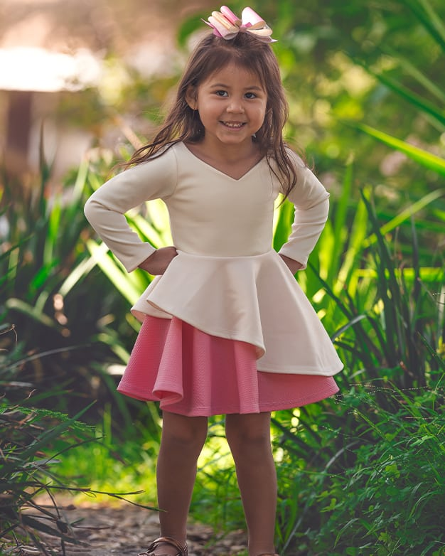 Ella's Knit Asymmetrical Top and Dress | The Simple Life Pattern Company