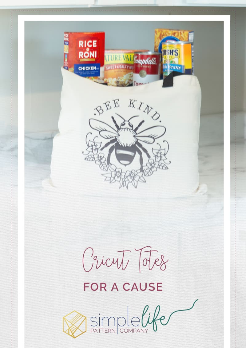 Cricut infusible ink tote bag inspiration ideas how to use infusible ink transfer sheets donation cricut cause simple life pattern company