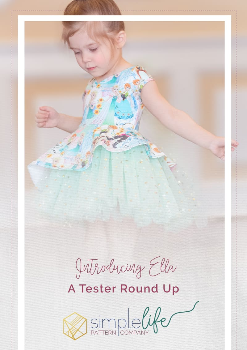 Ella Tester Round Up | The Simple Life Company | Ella's Asymmetrical Top & Dress