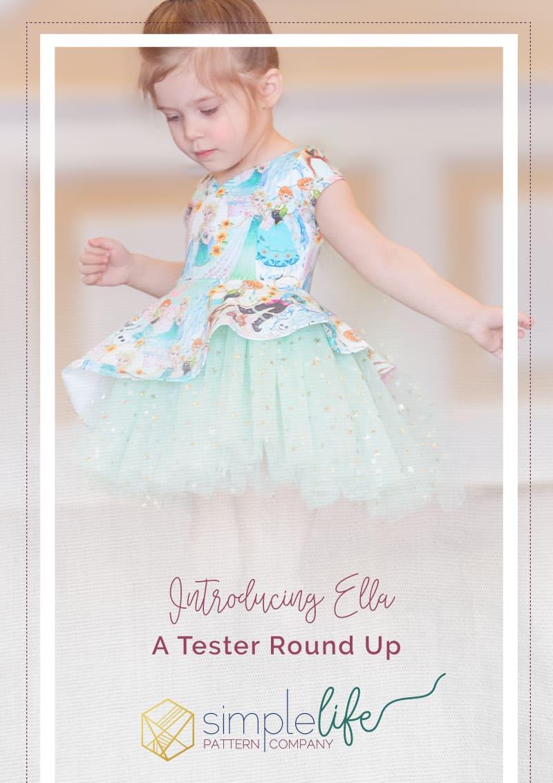 Ella Tester Round Up | The Simple Life Company | Ella's Asymmetrical Top & Dress