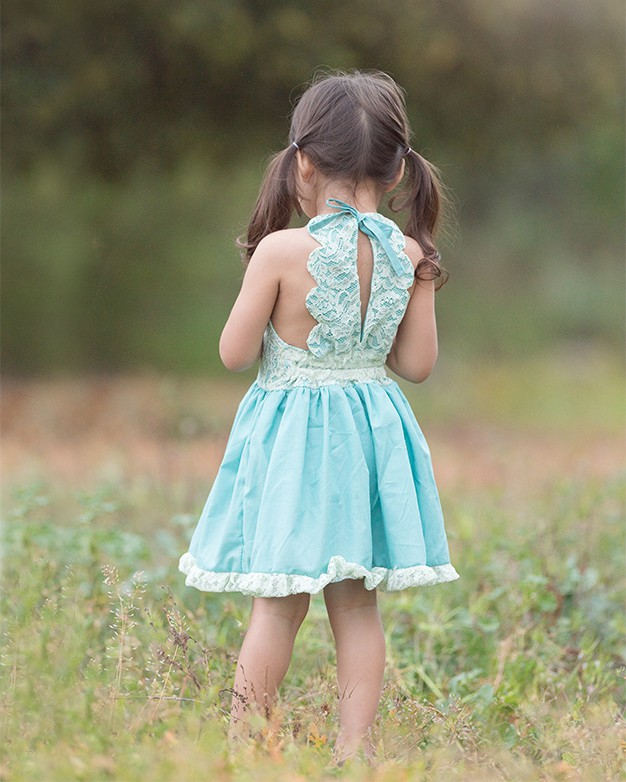 Simple Life Pattern Company| Pippa's Scalloped Romper & Dress. Downloadable PDF Sewing Pattern for Toddler and Girl Sizes 2T to 12.