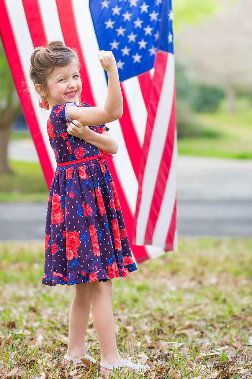 sew patriotic 2020 | the simple life pattern company | 4th of July, memorial day, red white blue, military, americana, america