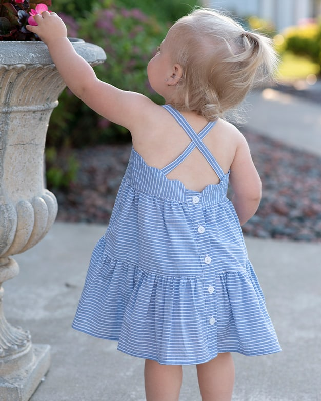 Baby Camilla's Tiered Top & Dress | The Simple LIfe Company