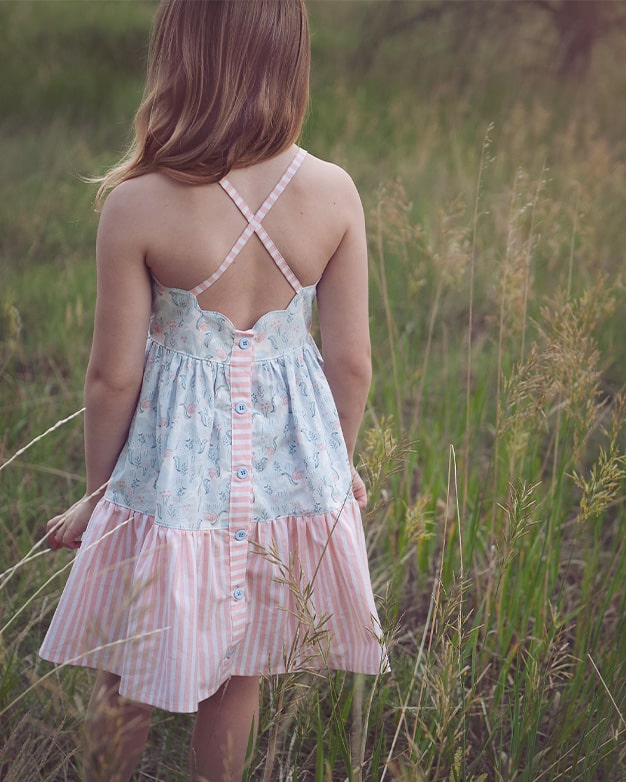 Camilla's Tiered Top & Dress | The Simple LIfe Company