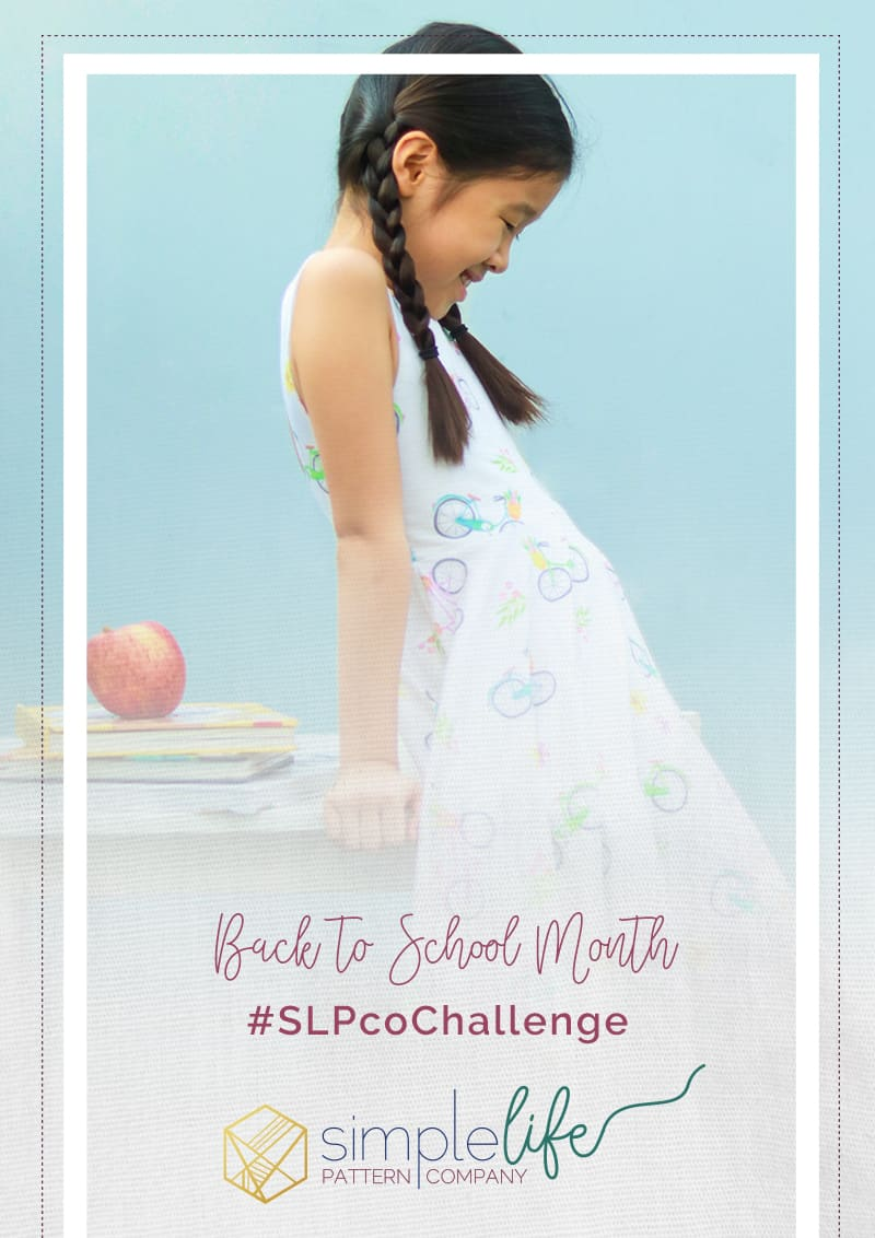 Back to School Month | The Simple Life Company | Monthly Challenge | SLPCO Challenge | Art Gallery Fabrics