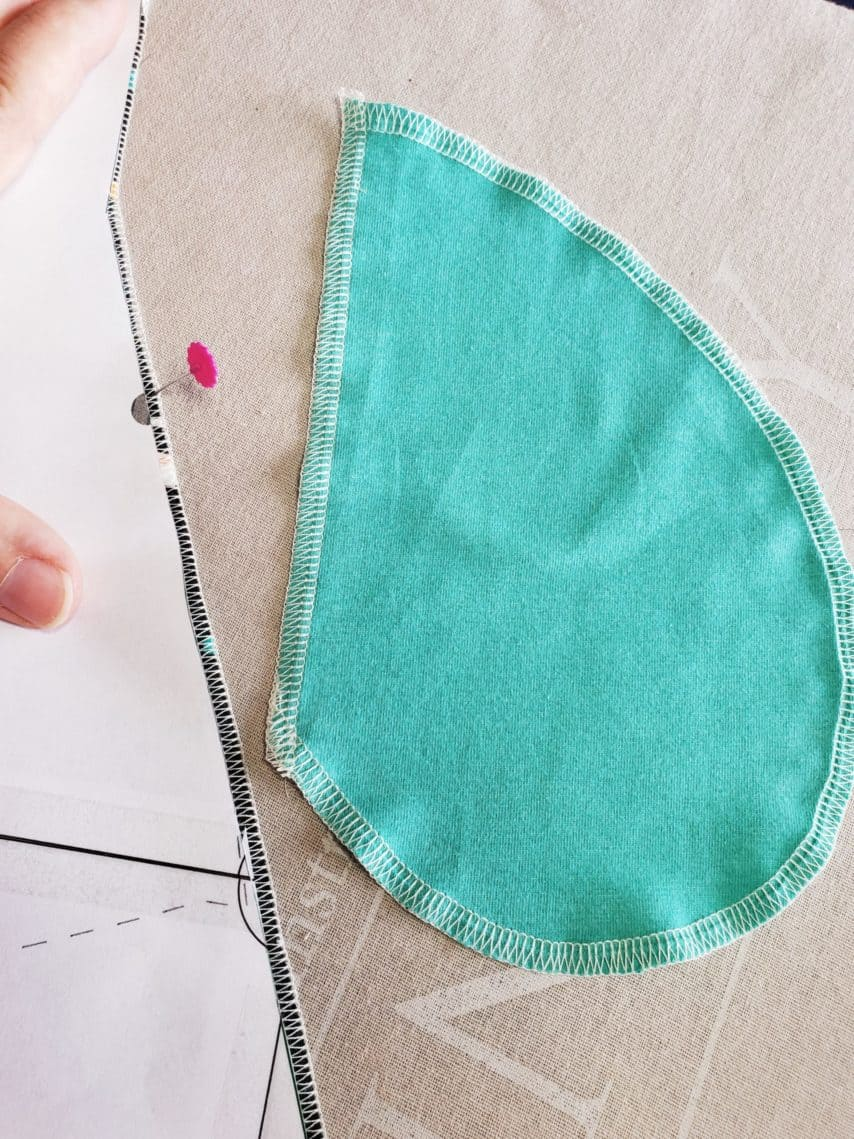 Trixie Sew-Along Pocket Markings