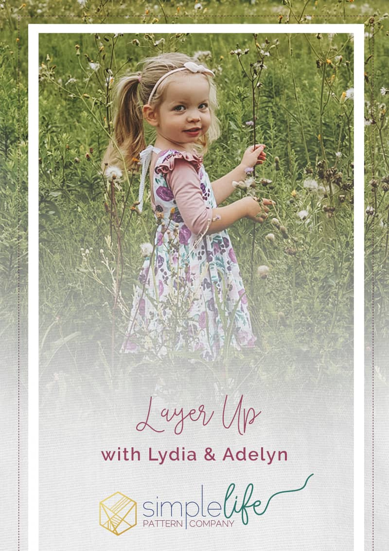 Simple Life Company | Layer Up with Lydia & Adelyn I'm so excited to show you how you can take that summer Adelyn dress and make it into a fall and winter dress by layering it with Lydia.