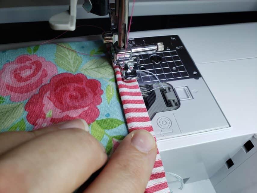Stitching Piping