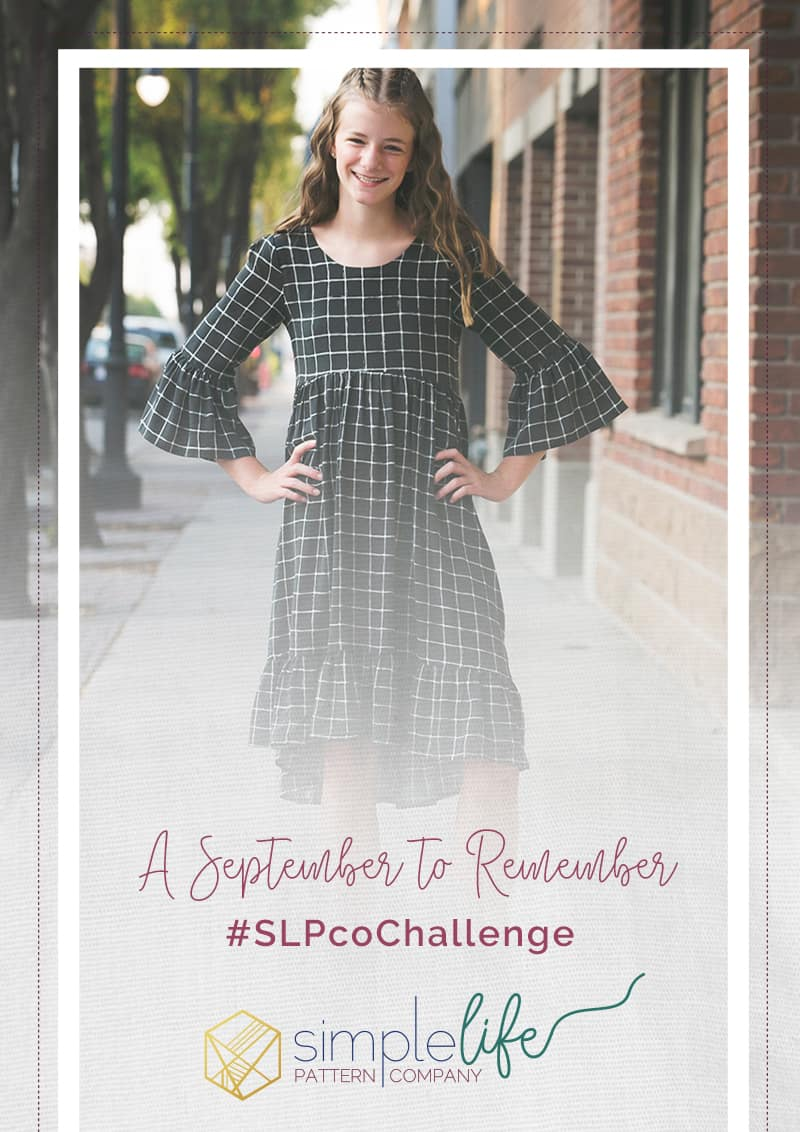 september to remember monthly challenge | The Simple Life Company