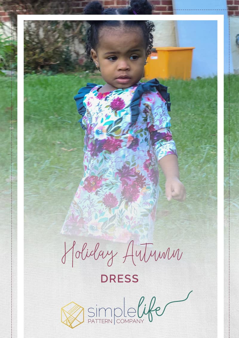 Simple life pattern company. autumn holiday shift dress energize leggings harper swing top for holidays and special occasions child tween womens baby downloadable pdf sewing patterns fast easy beginner to advanced