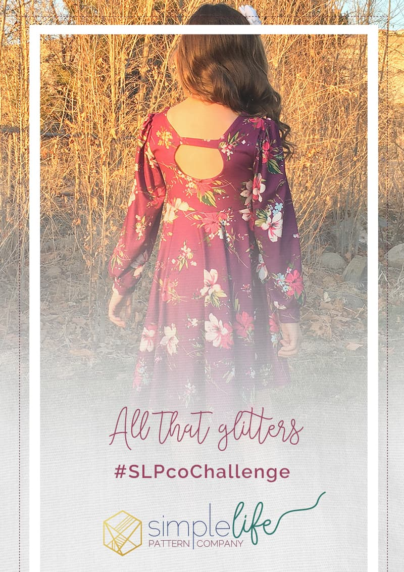january 2021 slpco monthly challenge simple life pattern company all that glitters slpcochallenge hampton ivy zoe skylerhazel aspen tiegan